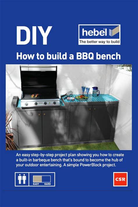 building a bbq bench houses csr hebel