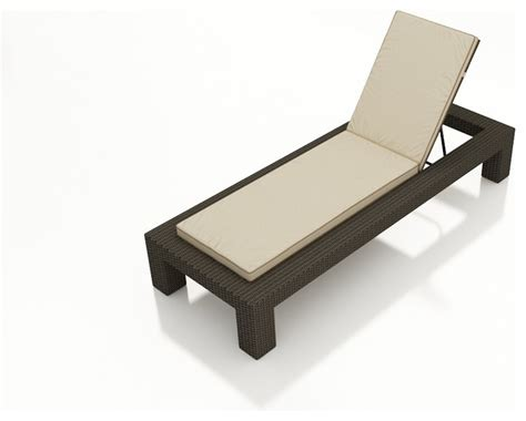 modern chaise lounges hton modern adjustable chaise lounge chocolate wicker