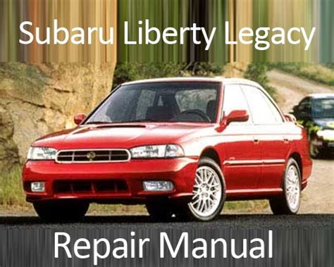 manual repair free 1989 subaru leone instrument cluster subaru liberty legacy 1989 1993 repair manual