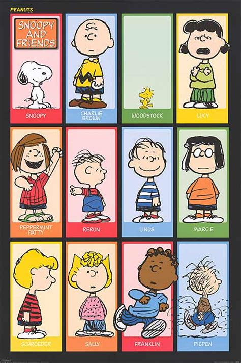 the colors of friendship a book about characters who become friends despite their differences books peanuts posters at poster warehouse