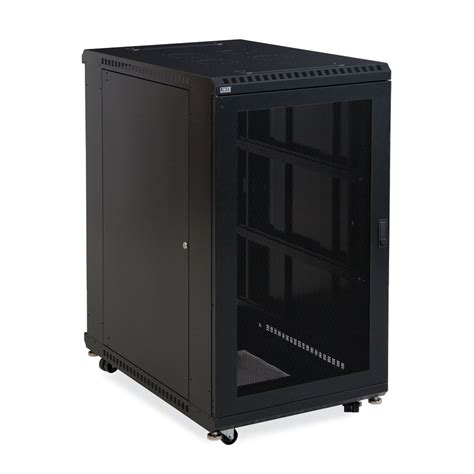 22u Server Rack Cabinet by 22u Linier Server Cabinet Vented Vented Doors 36 Quot Depth