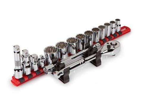 socket and holder tekton 91805 1 4 3 8 and 1 2 inch drive socket holder set 3