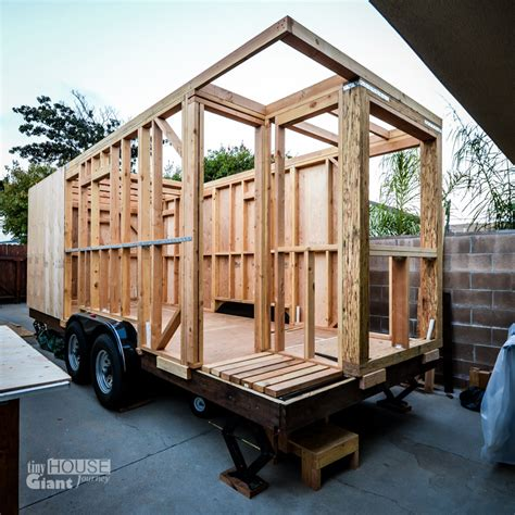small home construction we quit our jobs built a tiny house on wheels and hit the