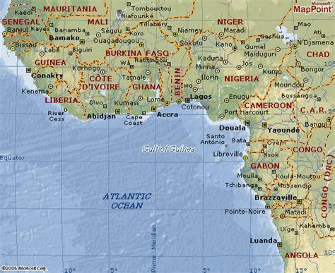 africa map gulf of guinea map of gulf of guinea region