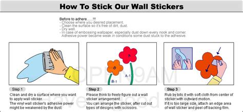 how to stick wall stickers dandelion spore flower wall stickers home vinyl decals