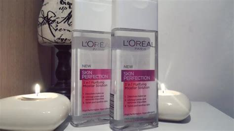 ps loreal micellar solution is now on offer in boots for 333 l oreal new skin perfection 3 in 1 paperblog