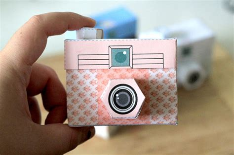picture papercraft cameras cool tech