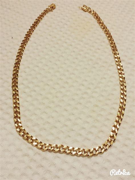 cadenas oro chile cadena de oro grumet 18 kilates 1 500 000 en mercado libre