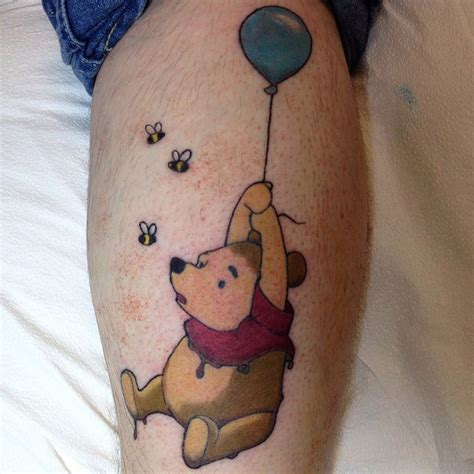 pooh bear tattoo designs winnie the pooh dipped in mud best design ideas