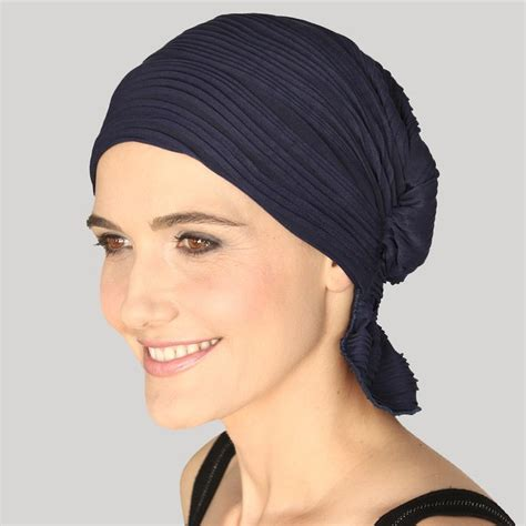 hats with attached bangs turban with bangs attached chemo coverings with bangs