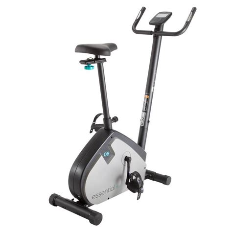 cyclette da decathlon cyclette essential domyos fitness cardio fitness