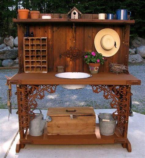 garden potting bench with sink best 25 garden sink ideas on pinterest outdoor garden