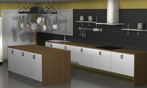 kitchen racks designs kitchen design ideas an ikea kitchen with fewer wall cabinets