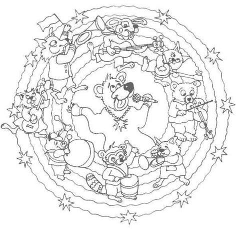 imagenes de mandalas faciles para niños dibujos para colorear mandala animalitos m 250 sicos es