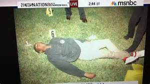 This courtesy of msnbc is trayvon martin s dead body get angry