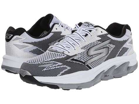 zappos athletic shoes skechers go run ultra road white black zappos free