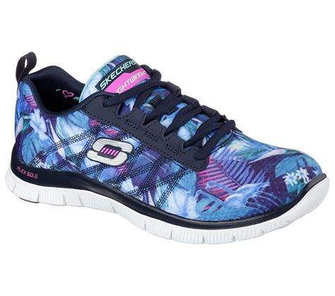 skechers comfort construction buy skechers flex appeal floral bloom flex appeal shoes
