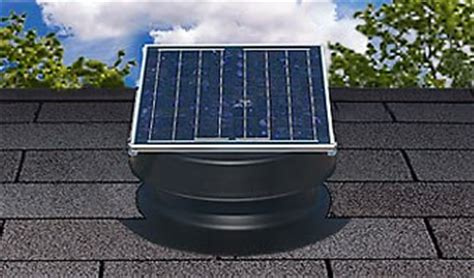 natural light solar attic fan 36 watt solar attic fan 36 watt black with 25 year warranty