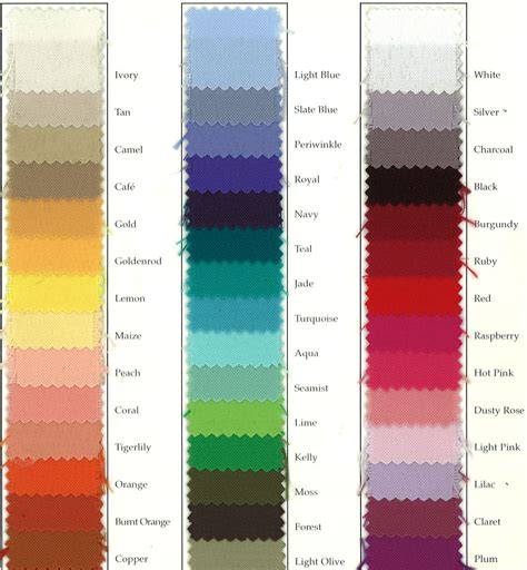 wedding color swatches chagne color swatch wedding www imgkid the