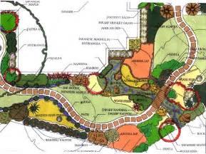 Japanese Garden Layout Japanese Garden Garden Landscape Plan Five At Gardendesigner Garden Design Landscape