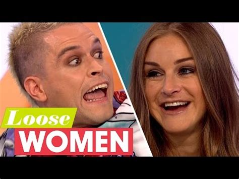 nikki jayne on the couch pete and nikki reunited on loose women big brother 7