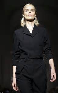 Guess Where This Is From 24 Catwalk by Herzigov 225 Flaunts Slender Figure At Milan Fashion