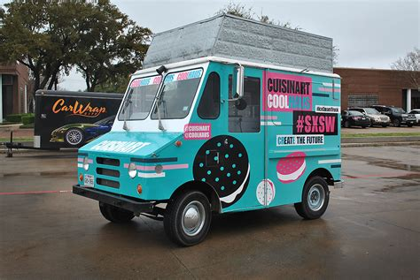 cool wrapped cool haus full food truck wrap car wrap city