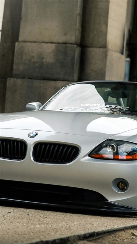 slammed cars iphone wallpaper bmw z4 coupe slammed cars wallpaper 46607