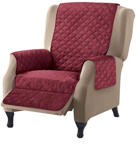 Recliner Protectors by Collections Etc Reversible Quilted Furniture Protector Ebay
