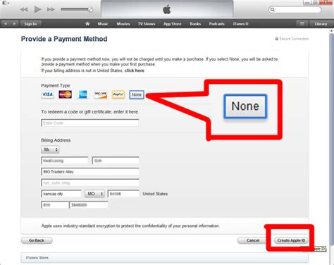 how to make a us apple id without credit card install kindle singapore