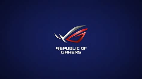 wallpaper asus republic of gamers hd wallpaper republic of gamers asus hd technology 4498