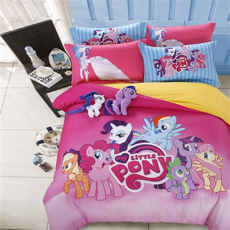my little pony bed set free shipping 100 pure cotton twin queen full size my