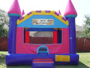 bounce house rentals october 2012