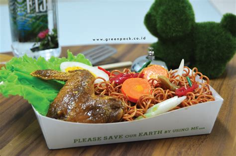 Tray Makanan by Tray Makanan Kertas Greenpack Kemasan Makanan Food Grade