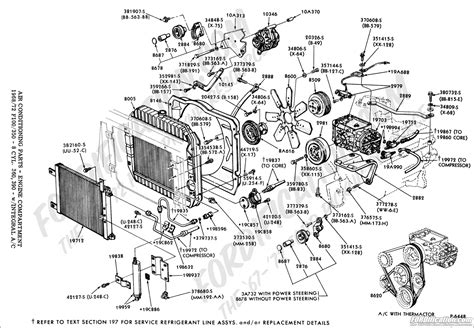 ford truck parts diagram ford truck technical drawings and schematics section f