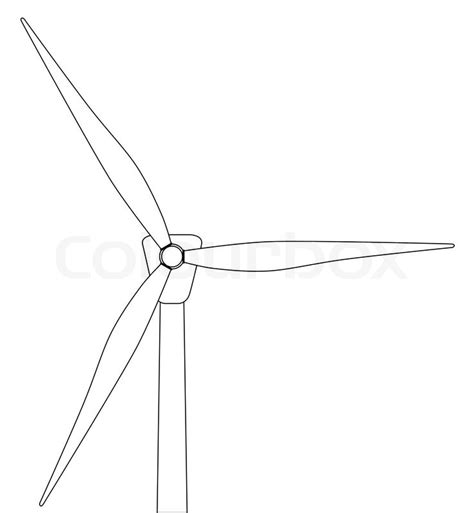 how to draw wind diagram black and white line drawing of a typical wind turbine