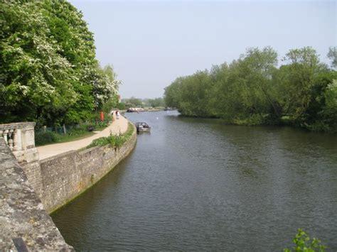 thames river walk thames river walk at oxford photo