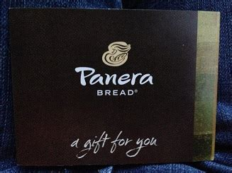How Much Is On My Panera Gift Card - panera bread review