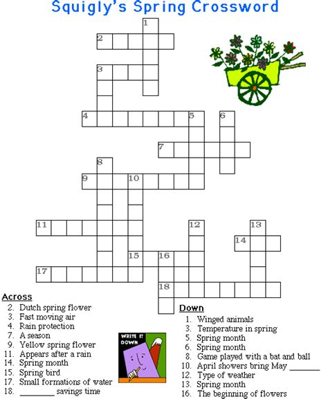 easy crossword puzzles south africa it s spring and what s a better way to celebrate the