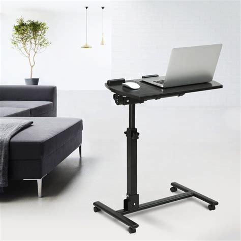 portable standing desk amazon amazon com langria portable mobile computer desk laptop