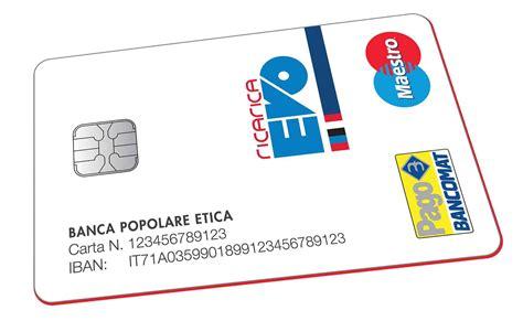 conto banca etica la carta conto di banca etica per la tua organizzazione