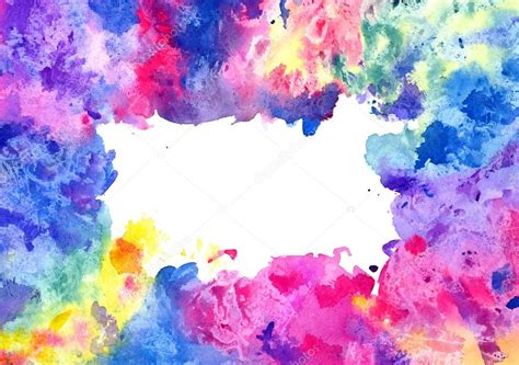 mixed colors abstract artistic watercolor background mixed colors
