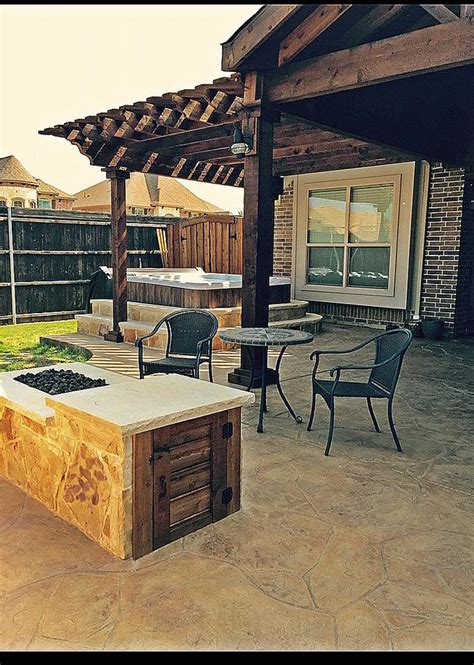 patio with tub remodeling contractor complete