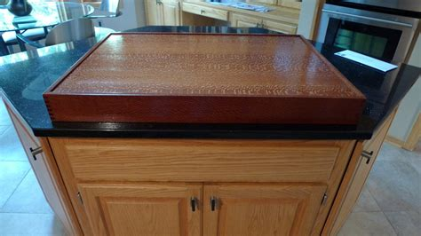Cooktop Cover Cooktop Covers By Stevea Lumberjocks Woodworking