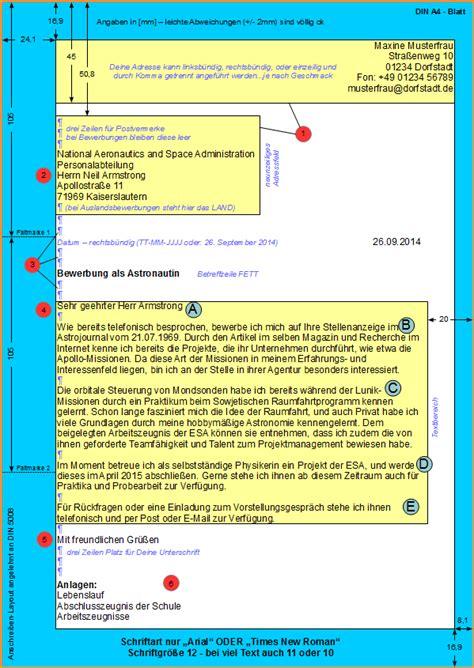 Bewerbung Form Din 5008 8 Anschreiben Din 5008 Bewerbungsschreiben