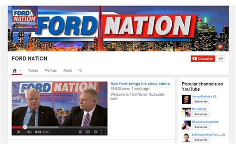 rob ford news rob ford launches series admits he lied about