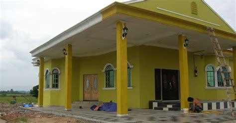 tren gaya warna cat  rumah kuning gading cat rumah