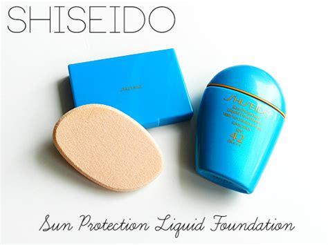 Shiseido Liquid Foundation shiseido sun protection liquid foundation review