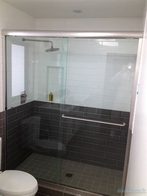 Framed Shower Doors Atlanta Semi Frameless Shower Doors Patial Framed Superior Shower Doors