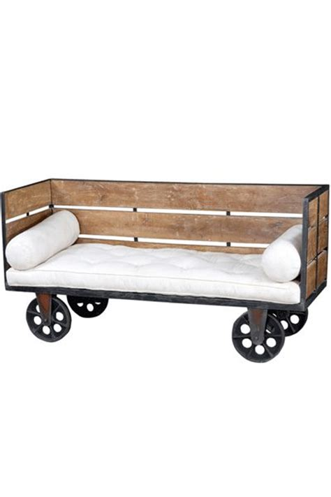 bed on wheels industrial factory day bed on wheels upcycle pinterest